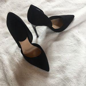 Just Fab Size 8 Black pumps - LIKE NEW!